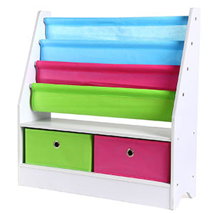 3. Homfa Kids Book Organizer