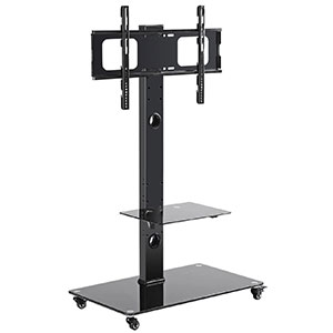 7. TAVR Furniture TF5001 TV Stand Cart