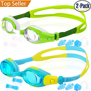 2. Cooloo Kid's Swim Goggles