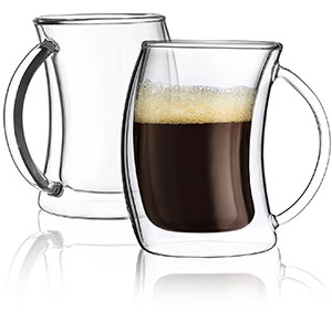 8. JoyJolt Caleo Collection Espresso Cup