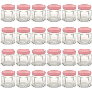6. Homemade Perfect 1.5 oz Mini Glass Jars (Pack of 24)