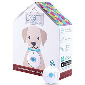 5. DOTT The Smart Dog Tag Pet Finder