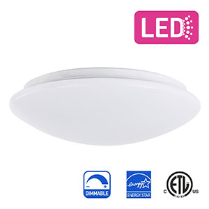 7. IN HOME 11-inch Flush mount Ceiling Light