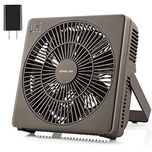 10. 8 Inch Fan for Desk by OPOLAR
