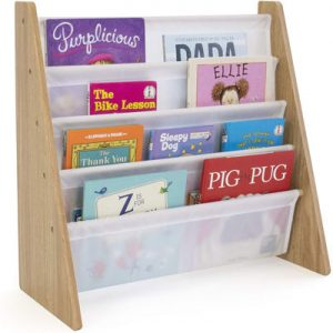 8. Humble Crew WO173 book shelf rack