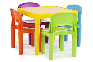 Photo of Top 10 Best Kids Plastic Table and Chairs Sets in 2020 Reviews