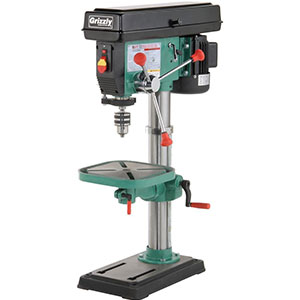 9. Grizzly 12 Speed Bench-Top Drill Press (G7943)