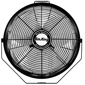 9. Air King 9312 Mount Wall Fan