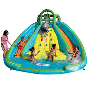 3. Little Tikes River Race Rocky Mountain Slide Bouncer