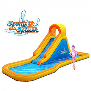 10. Blast Zone Spray-and-Splash 2 Water Park