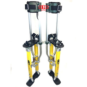 4. SurPro S2.1 24-40 in. Drywall Stilts (SUR-S2-2440MP)