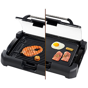 10. Secura GR-1503XL 2-In-1 Electric Grill