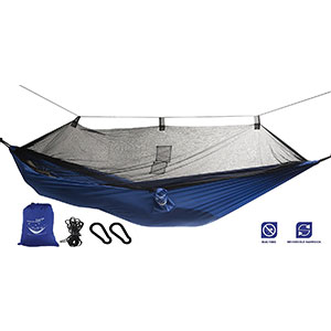 4. Krazy Outdoors Mosquito Camping Hammock