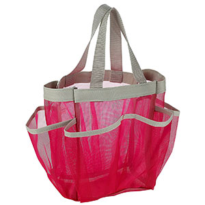 4. Handy Laundry 7 Pocket Shower Caddy Tote