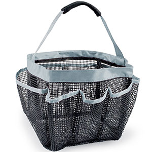 10. DII Mesh Portable Shower Caddy Tote