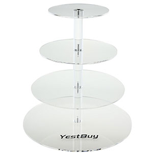 2. YestBuy 4-Tier Cupcake Display Tower Stand