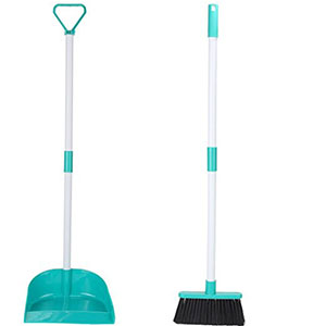 9. Home-X Broom and Dustpan Set