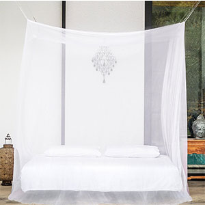 2. EVEN Naturals Mosquito Net for Double Bed