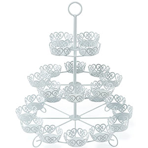 10. Cooking Upgrades 24-Count Cupcake Tower Stand