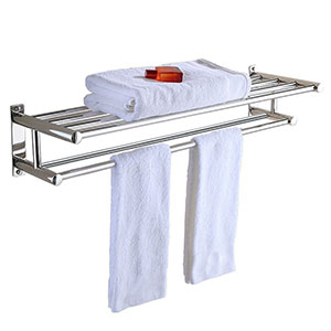 6. PNBB Stainless Steel Double Towel Bar