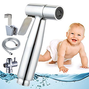 6. Baby Touch Cloth Diaper Toilet Sprayer Kit
