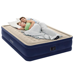 8. Intex Dura-Beam Elevated Deluxe Air Mattress