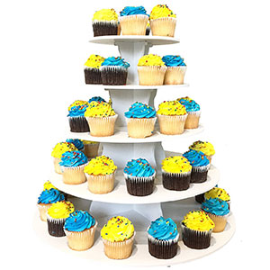 9. The Smart Baker 3 or 5-Tier Cupcake Tower Stand