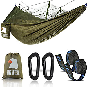 1. Covacure Double Parachute Camping Hammock