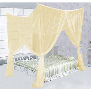 8. Just Relax Elegant Mosquito Net Bed