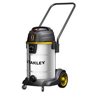 10. Stanley 8-Gallon Stainless Steel Wet Dry Vacuum
