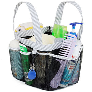 5. Haundry Mesh Shower Caddy Tote