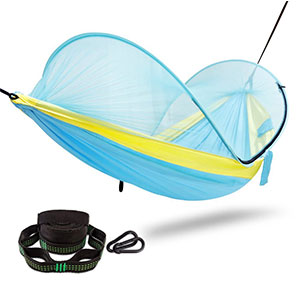 10. FiveJoy Pop Up Camping Hammock