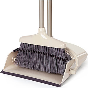 4. LiKe Lobby Broom with Dustpan