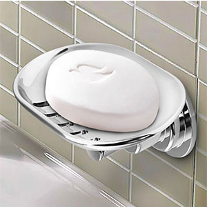 2. BOPai Suction Soap Dish Holder