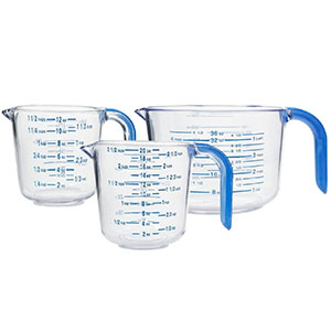 7. Arrow Plastic Measuring Cup Set