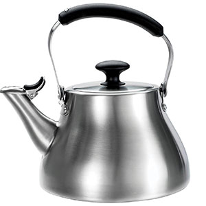 3. OXO Good Grips Brushed Stainless Tea Kettle