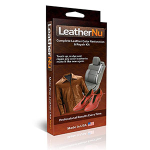 1. LeatherNu Leather Color Restoration & Repair Kit