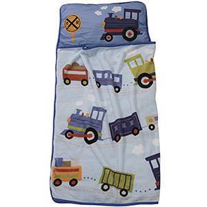 5. Lambs & Ivy Nap Mat (Train)