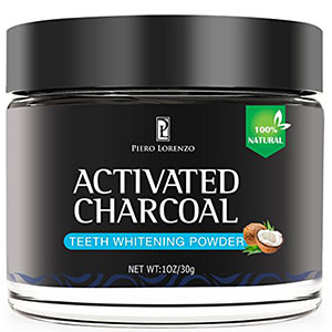 8. The Friendly Swede Activated Charcoal Teeth Whitening Powder