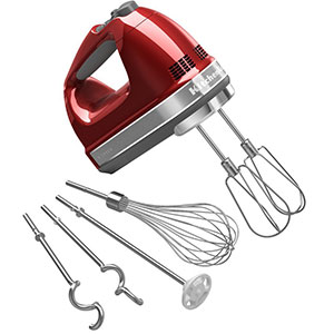 5. KitchenAid 9-Speed Digital Hand Mixer (KHM926CA)