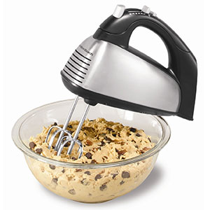 10. Hamilton Beach 6-Speed Classic Hand Mixer (62650A)
