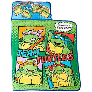 8. Nickelodeon Teenage Mutant Ninja Turtles Nap Mat