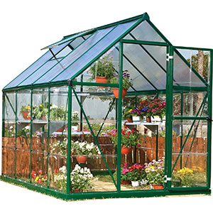 5. Palram Hybrid Greenhouse (Forest Green)