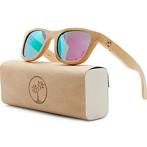 9. Tree People Wood Sunglasses for Men and Women