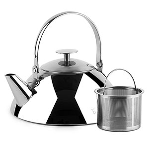 9. Teabox Pyramid Stainless Steel Tea Kettle