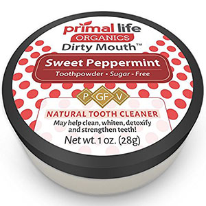 7. Primal Life Organics Dirty Mouth Sweet Toothpowder