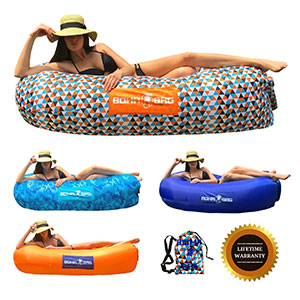 8. Boha Inflatable Lounger Bag Air