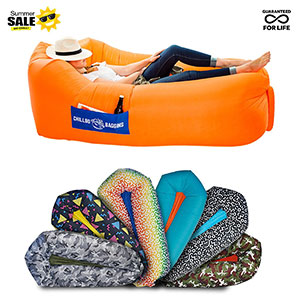 1. Chillbo Baggins 2.0 Inflatable Lounger