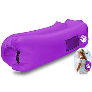 7. Legit Camping Inflatable Lounger