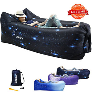 10. yeacar Inflatable Lounger Air Sofa